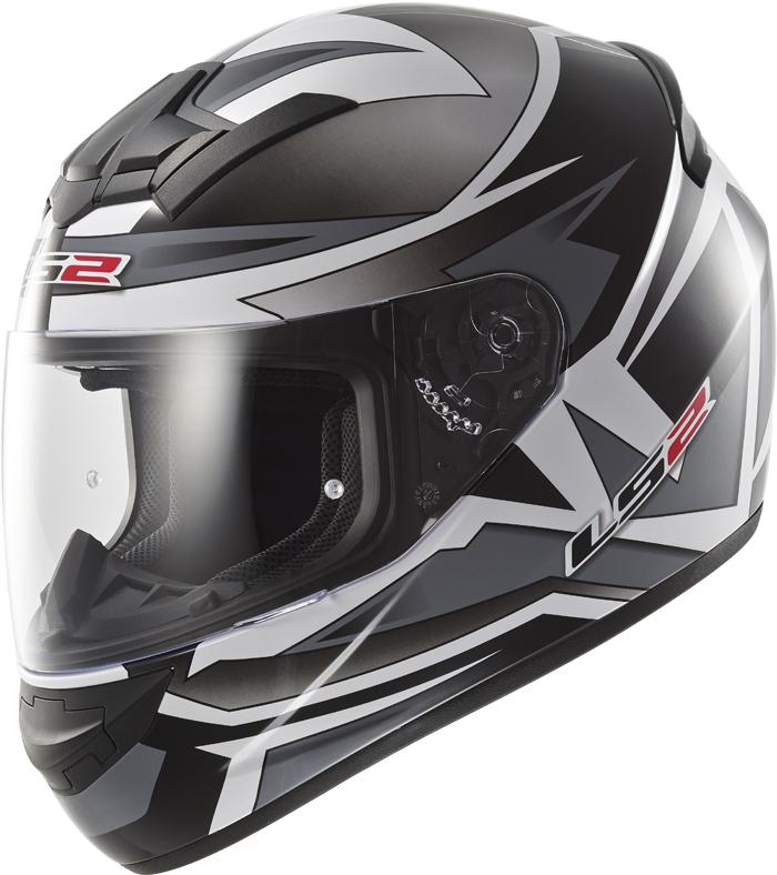 LS2 FF352 Rookie Gamma full face helmet Black Titanium