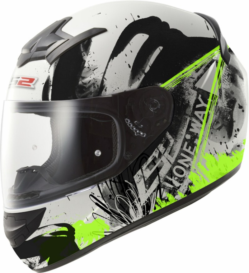 LS2 FF352 Rookie One full face helmet Black Green
