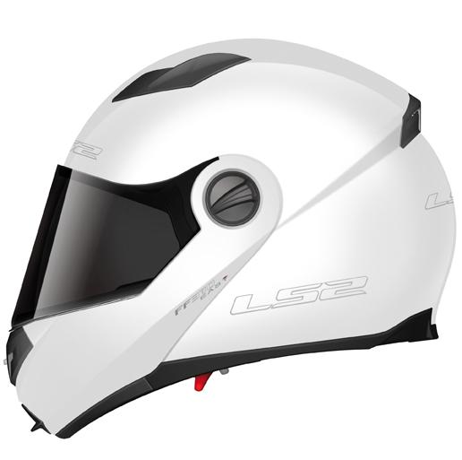 Casco modulare LS2 FF370 Easy Bianco lucido