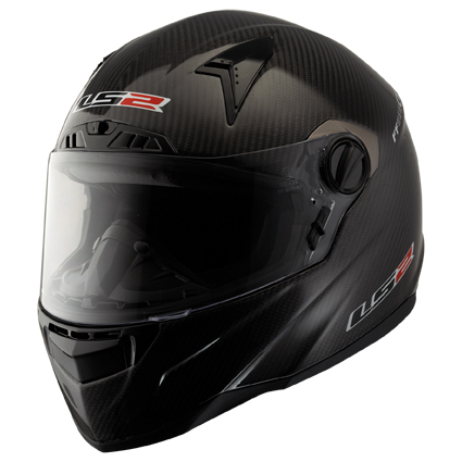 LS2 FF385 CT2 MONO full face helmet Carbon