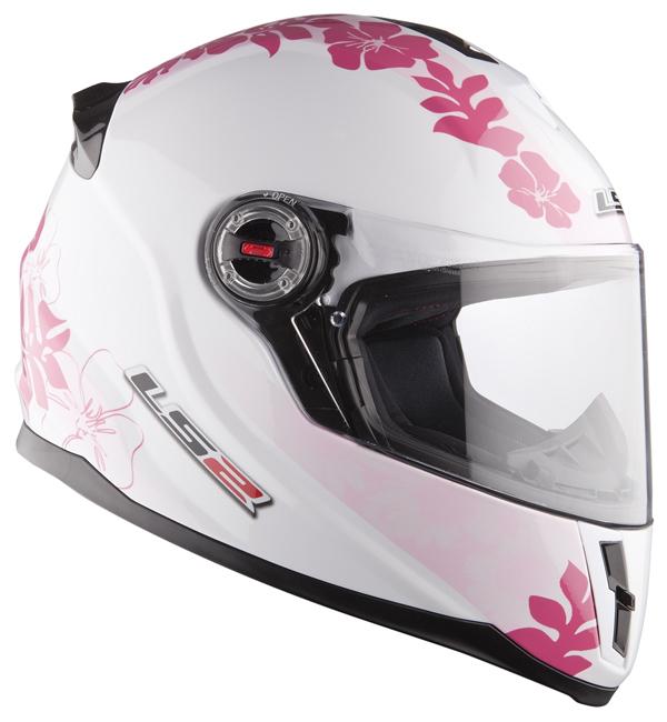 LS2 FF392 Vanity integral helmet baby pink