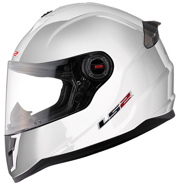Baby face helmet LS2 FF392 Single Mono White