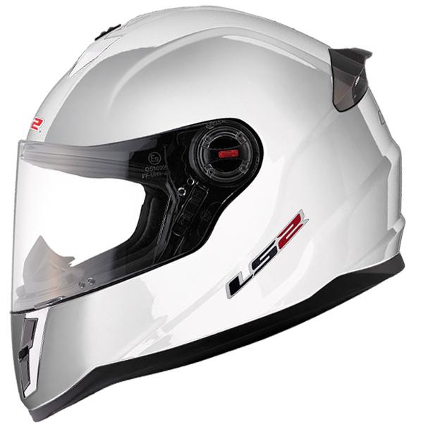Baby face helmet LS2 FF392 Single Mono White
