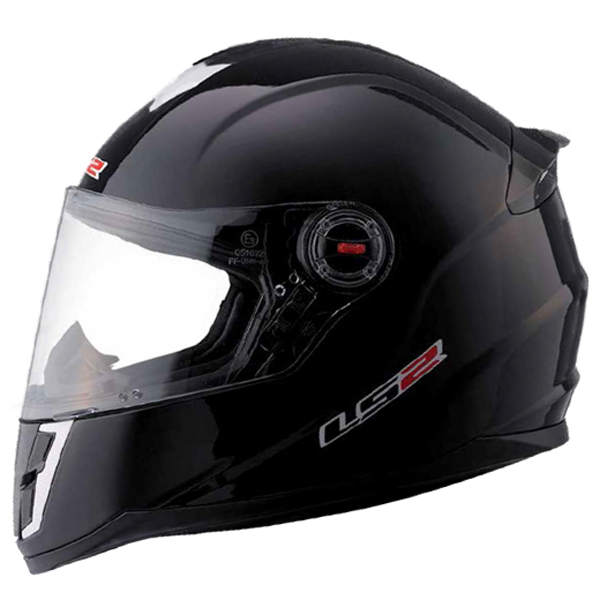Casco integrale bambino LS2 FF392 Single Mono Nero