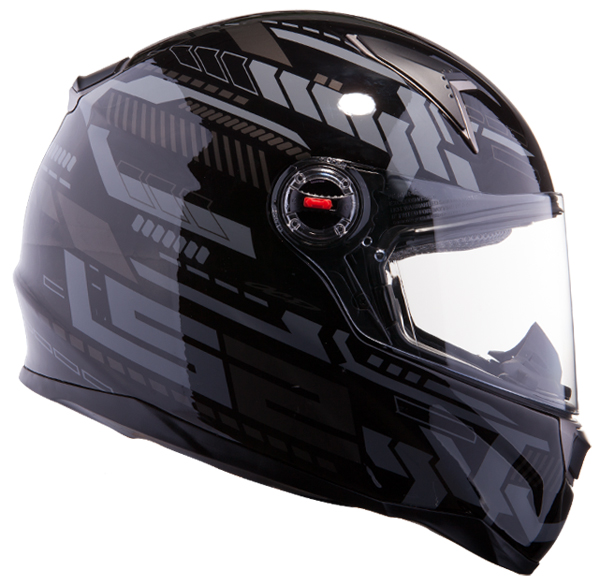 Full face helmet LS2 FF396 FT2 Tron Matte Black Titanium