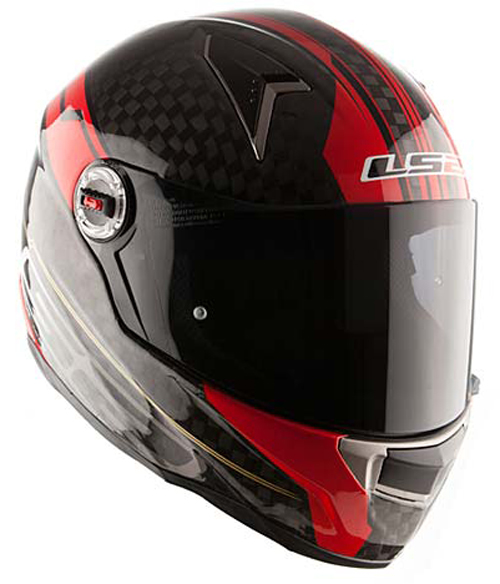 Full face helmet LS2 FF396 CR1 Carbon Trix Red