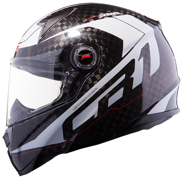 Full face helmet LS2 FF396 CR1 Diablo Carbon White