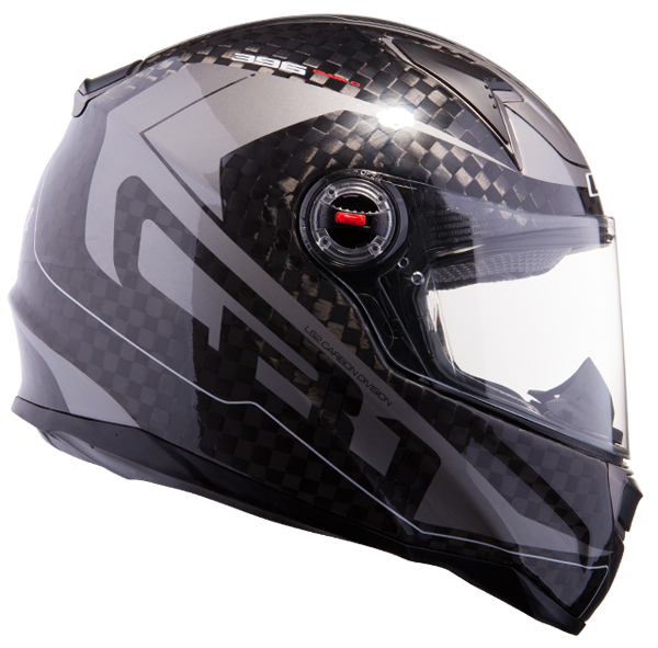 Full face helmet LS2 FF396 CR1 Carbon Diablo Gunmetal
