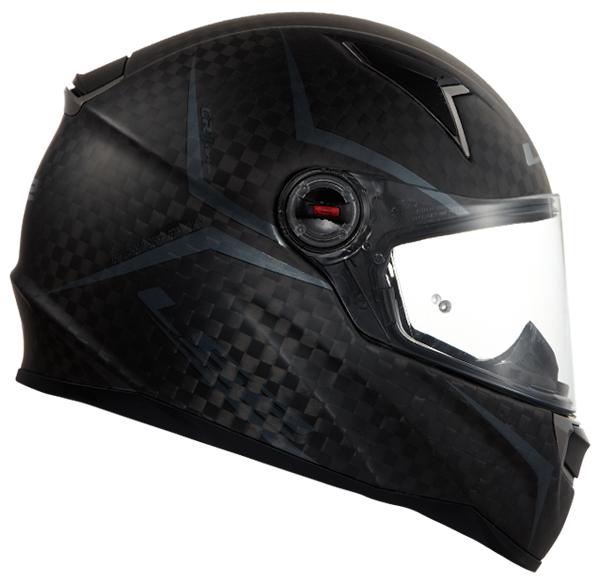 Full face helmet LS2 FF396 CR1 Carbon Magneto shiny opaque