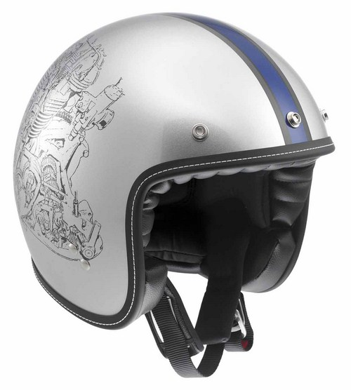 Casco moto Agv RP60 Multi Engine Grey