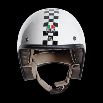 Agv City Rp-60 Multi Checker Flag jet helmet