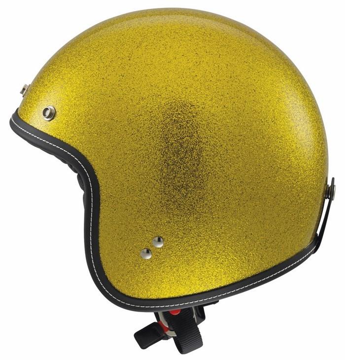 Casco moto Agv City Rp-60 Mono Metal Flake gold
