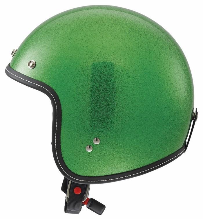Casco moto Agv City Rp-60 Mono Metal Flake verde