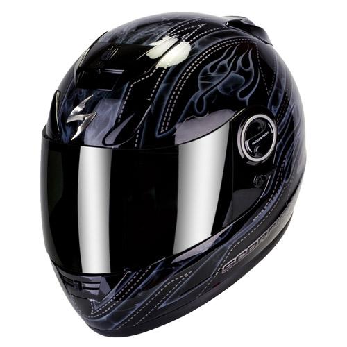 Scorpion Exo 750 Air Smoky full face helmet  Black Grey