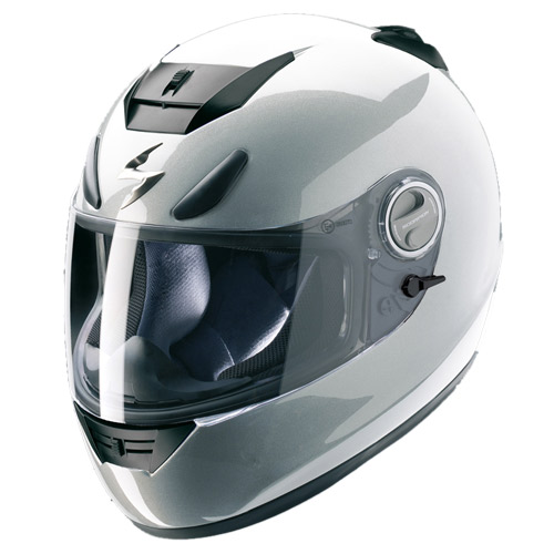 Scorpion Exo 750 Air full face helmet Hypersilver
