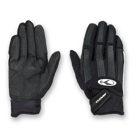 Motorcycle Gloves Black Clover FRC