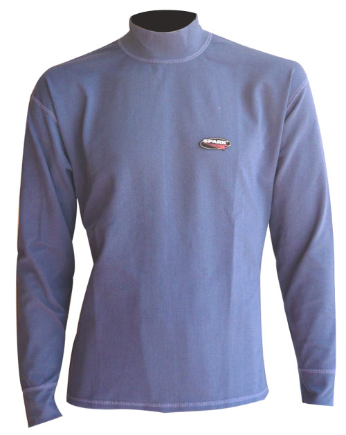 Spark Meraklon Isofil fiber underwear shirt Blue