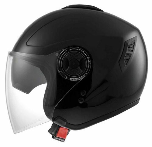Agv Fiberlight mono jet helmet black