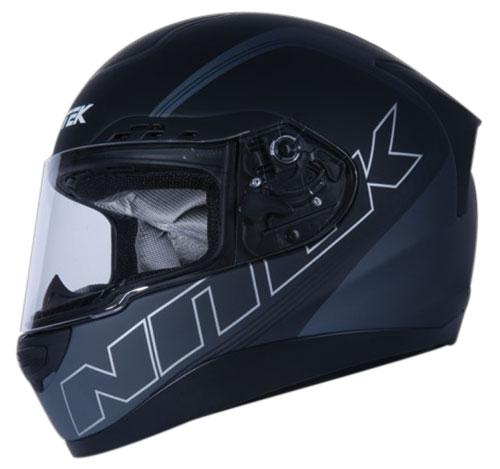 Nitek P1 Stealth full face helmet Black