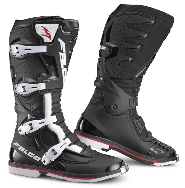 Boots Falco Cross Extreme Pro 3 with Black shoe D3O