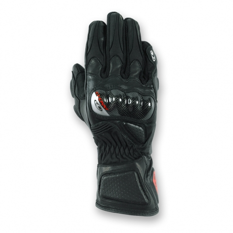 Summer Motorcycle Gloves Clover Yard-091 Black