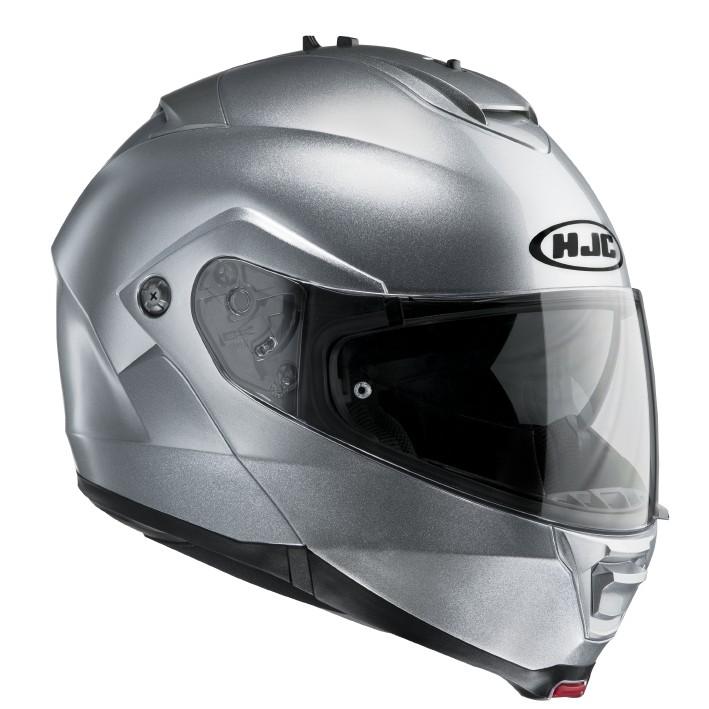 HJC ISMAX II flip off helmet Silver