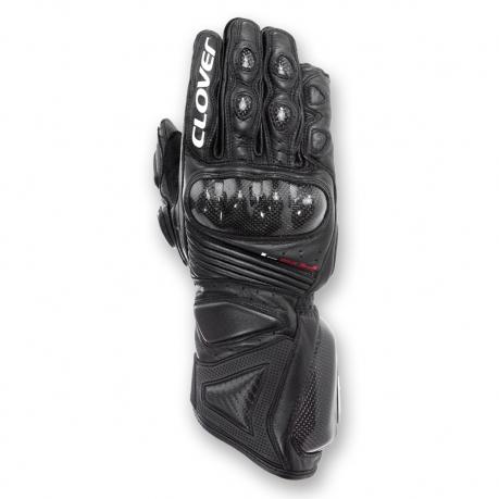 Clover Leather Gloves RS-4 Evo Black