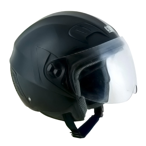 CGM Street Basic jet helmet Black