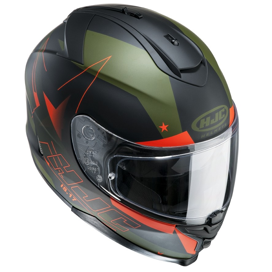 HJC IS17 full face helmet Armada MC7F
