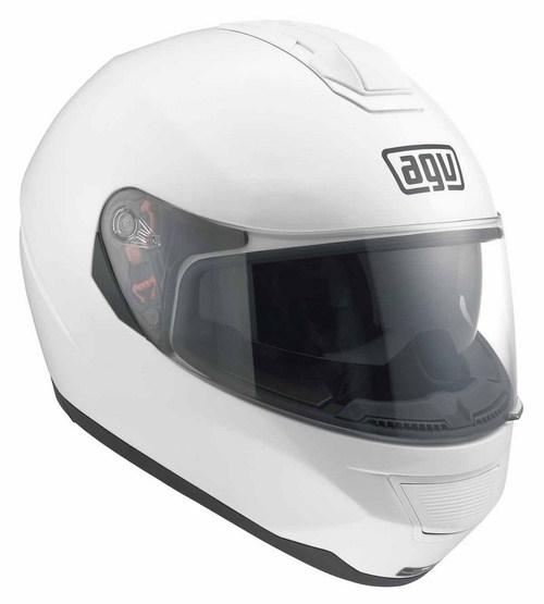 Casco moto Agv Strada Mono bianco