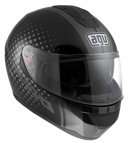 Casco moto Agv Strada Multi Techno nero