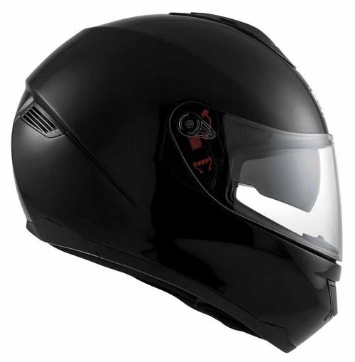 Casco moto Agv Strada Mono nero lucido