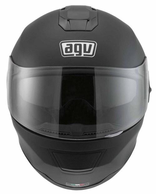 Agv Strada Mono fullface helmet flat black