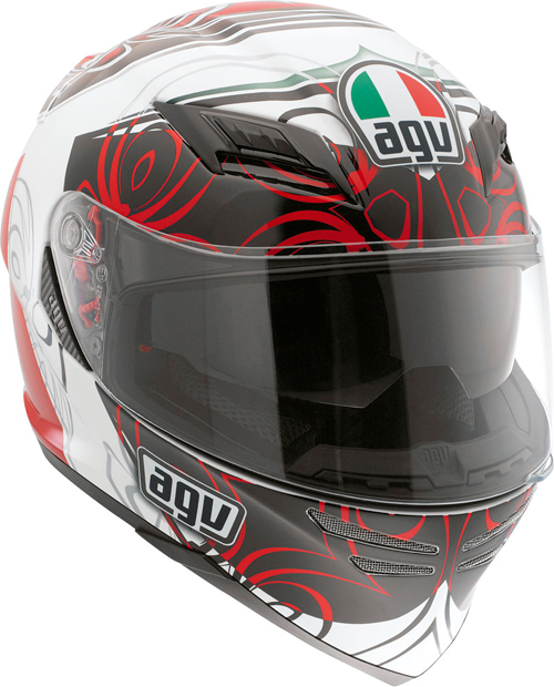 Agv Horizon Multi Absolute full-face helmet white-red