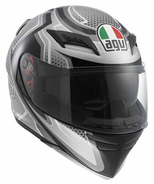 Casco moto Agv Horizon Multi Racer nero-carbon-gunmetal