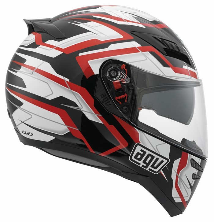 Agv GT Horizon Multi Stamina helmet black-white-red