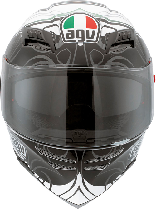 Casco moto Agv Horizon Multi Absolute bianco-gunmetal