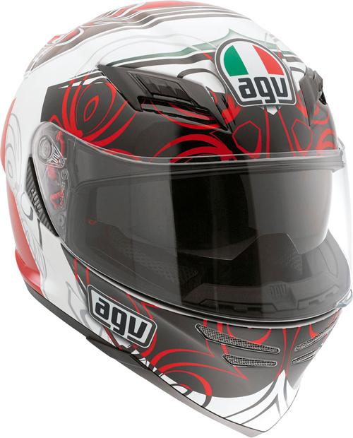 Agv Horizon Multi Absolute full-face helmet white-red