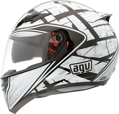 Agv Horizon Multi Scrape full-face helmet black-silver