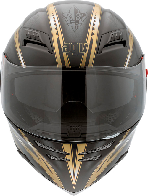 Agv Horizon Multi Florence full-face helmet black-gold