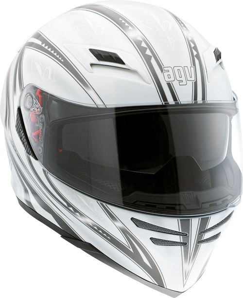 Casco moto Agv Horizon Multi Florence bianco-gunmetal