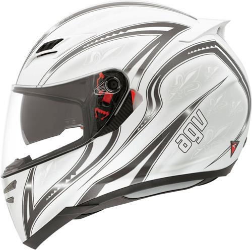 Agv Horizon Multi Florence full-face helmet bianco-gunmetal