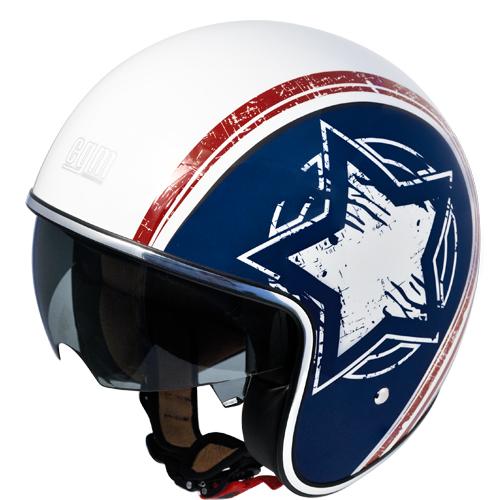 Jet helmet CGM 133S White America