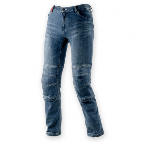 Clover Motorcycle Jeans with Kevlar SYS-2 Blue