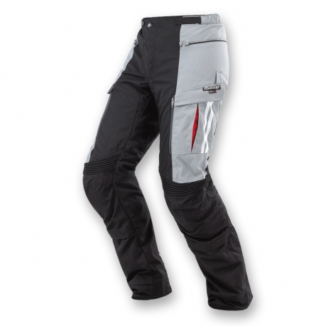 Pantaloni moto Clover GTS WP 3 strati Nero Grigio