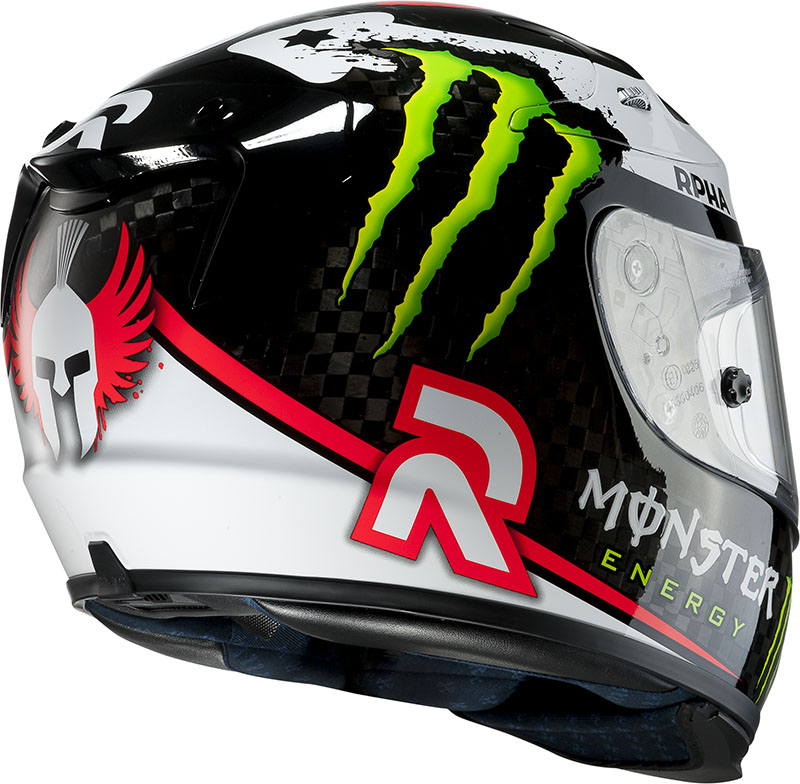 HJC full face helmet Carbon Plus RPHA 10 Lorenzo MC1