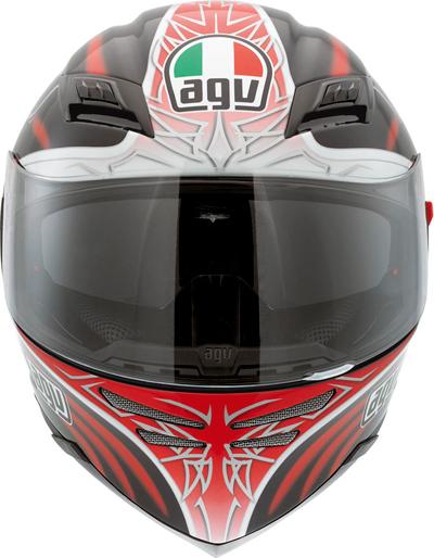 Agv Skyline Multi Sun full-face helmet black-red