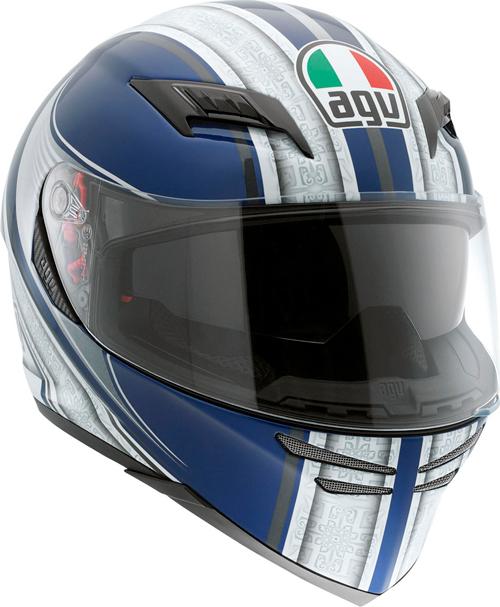 Casco moto Agv Skyline Multi Asura blu-argento