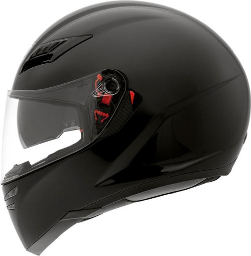 Casco moto Agv Skyline Mono nero lucido