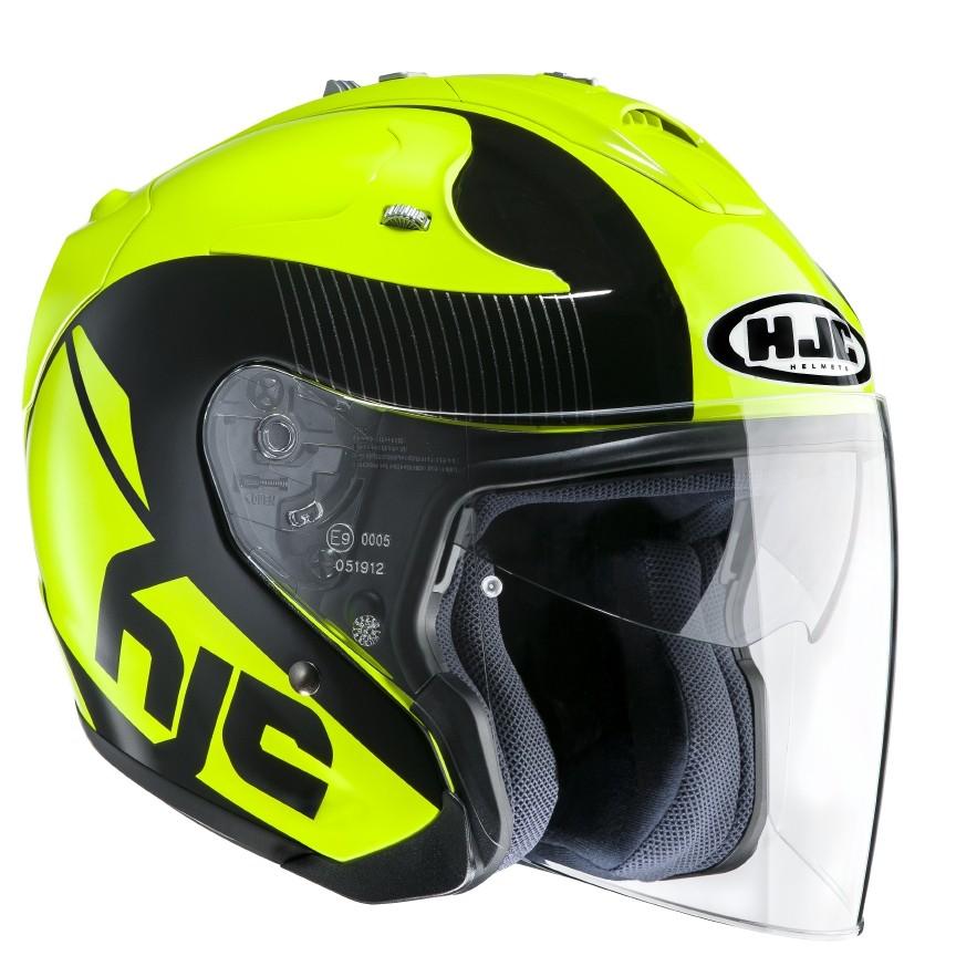 HJC FG Jet jet helmet Acadia MC4
